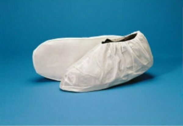 Keystone Shoe Cover w Non Skid AQ Sole MEDIUM ONLY PK OF 100 COVERS $24.56