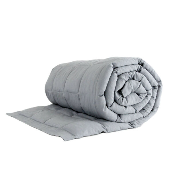 Kid sized weighted blanket - 4 or 6 pounds 100% cotton