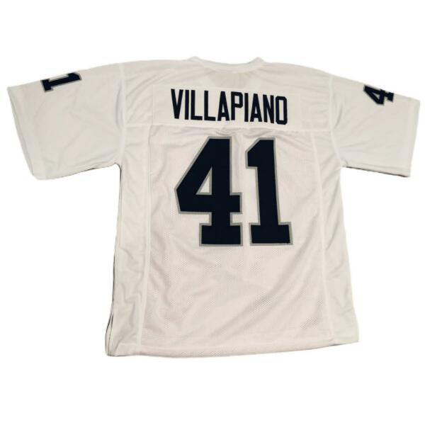 PHIL VILLAPIANO Unsigned Custom Jersey WHITE - Black Numbers XL 2XL 3XL