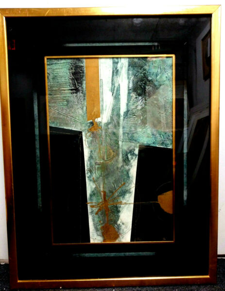 ORIGINAL FINE ABSTRACT ART ROBERT ALAN DEVOE TITLE