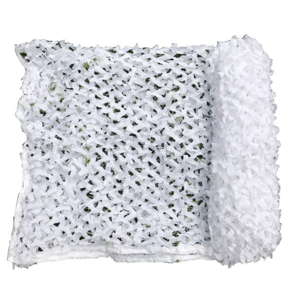 Snow White Camouflage Net Camping Camo Netting Wedding Decoration Winter Outdoor
