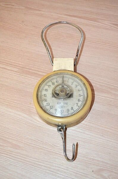 Antique scales cantor. Good condition. working