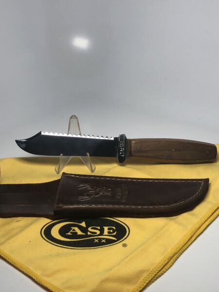 CASE#x27;S TESTED XX CASE Fixed Blade Knife 1920s 1940s Wood Handle