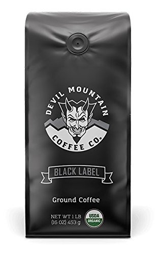 quot;Black Labelquot; Dark Roast Ground Coffee Strongest Coffee in the world With Lab