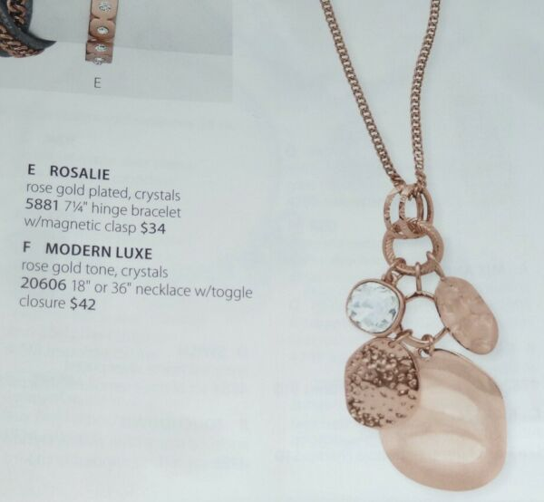 PREMIER DESIGNS *MODERN LUXE* ROSE-GOLD & CRYSTALS 36
