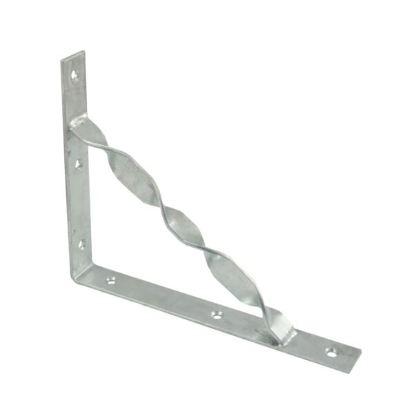 Carinya STAYED STRAIGHT BRACKET 250x200x30x3.5mm Heavy DutyGALVANISED-AUS Brand