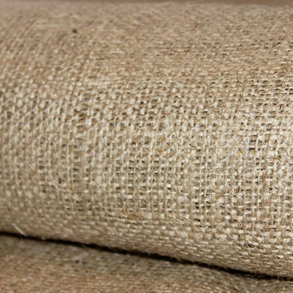 Heavyweight 10 oz Jute Burlap Fabric 40 in Wide x 5 Yards FedEx 2Day Ship