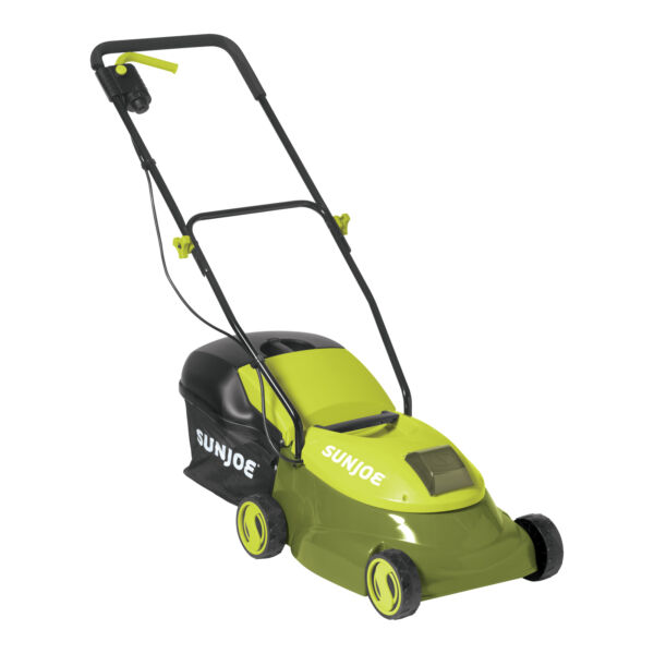 Sun Joe Cordless Lawn Mower 28V Lithium Ion Battery Included 90 Day Warranty $109.00