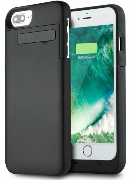 Luxury For iPhone XS 8 7 SE 2020 Battery Case External Power Bank Charger Cover $17.99