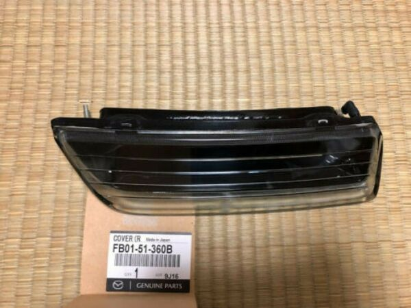 Genuine Mazda 86-92 RX-7 FRONT Cover Passing hole FB01-51-360B FB01-51-370B FS