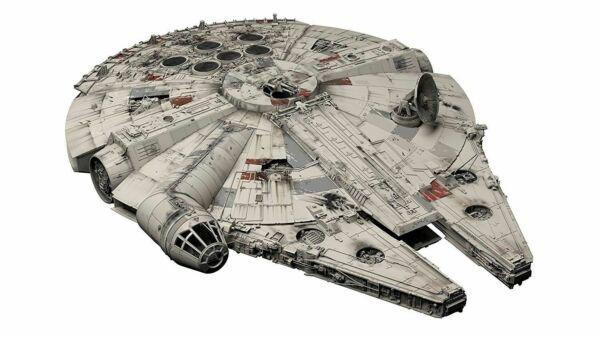 BANDAI PERFECT GRADE 1 72 Star Wars MILLENNIUM FALCON Plastic Model Kit NEW F S