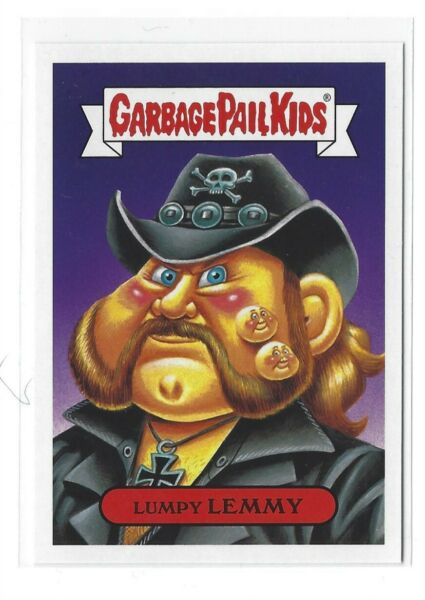 2017 GARBAGE PAIL KIDS BATTLE OF THE BANDS LUMPY LEMMY 4b GPK  BOTB TOPPS NM