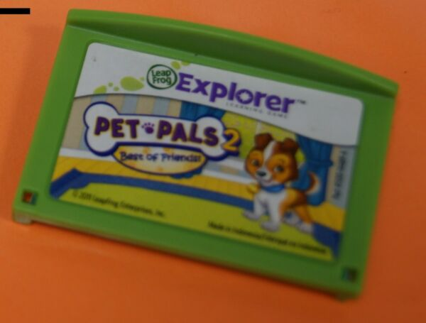 Leapfrog Leapster Explorer PET PALS 2 Game Leap Pad Leap Pad 23GS XDi Ultra $14.95