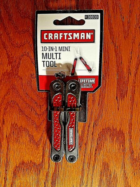 CRAFTSMAN 10-IN-1 MINI MULTI TOOL MANY COLORS AVAILABLE