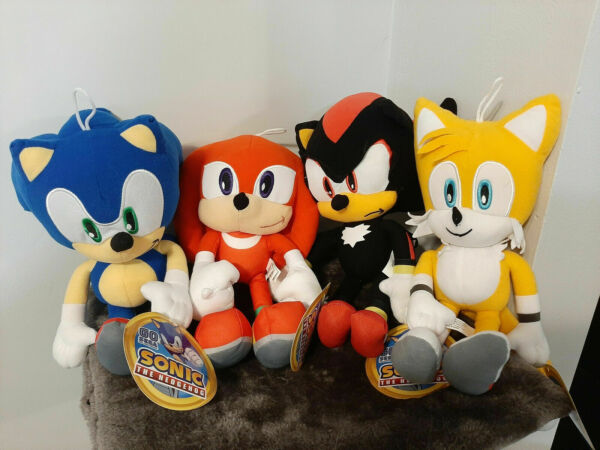 Sonic the Hedgehog Plush TOY FACTORY NWT YOU PICK Knuckles Shadow 12