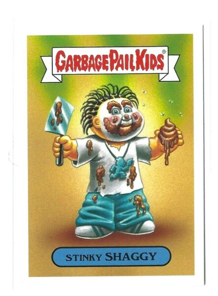2017 GARBAGE PAIL KIDS BATTLE OF THE BANDS STINKY SHAGGY 4b GPK BOTB NM TOPPS