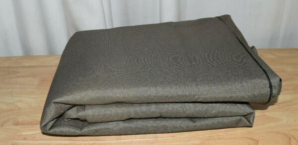 Budge Small Tan Tweed Patio Square Table Cover English Garden $26.91