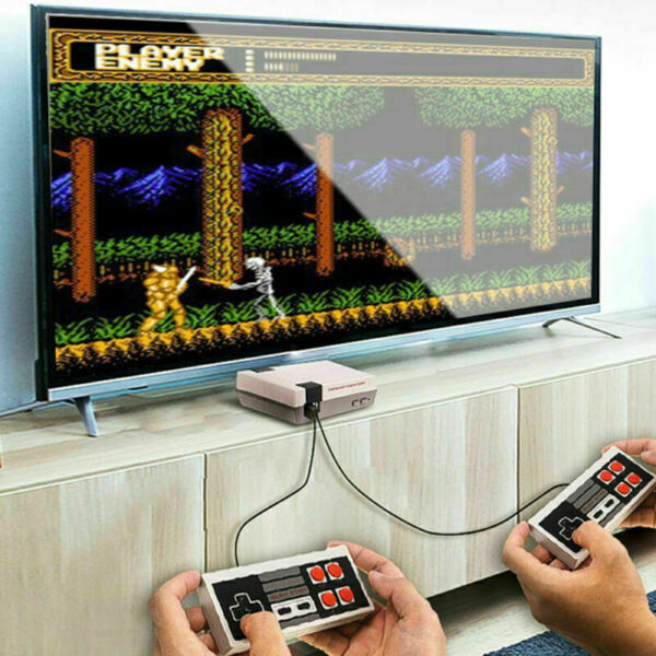 Mini Retro Game Anniversary Edition Console 620 Nintendo Built In With Av Output