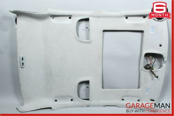 00-06 Mercedes W220 S600 Roof Headliner Trim Panel Pillar Cover Assembly Suede