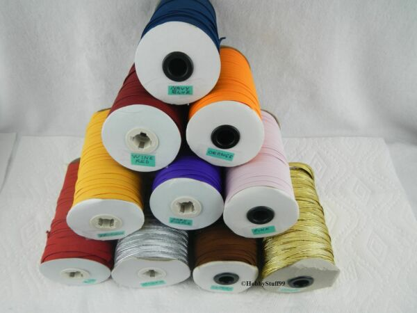 Face Cloth Parts~~~6 mm Flat Elastic Band For Sewing 14