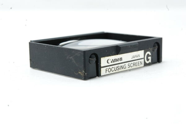 *Not ship to USA*  Canon Focusing Screen for Canon old F-1 Type G  SN0332 *RARE*