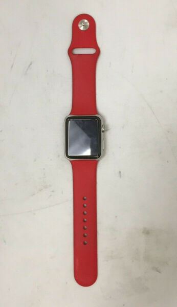 Apple Watch Stainless Series 1 Steel 42MM IC Locked PARTS ONLY