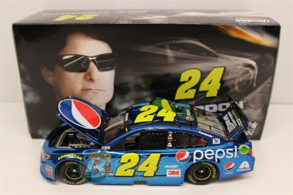 2015 JEFF GORDON #24 PEPSI COLOR CHROME 124 CHEVY SS NEW IN BOX ACTION RARE