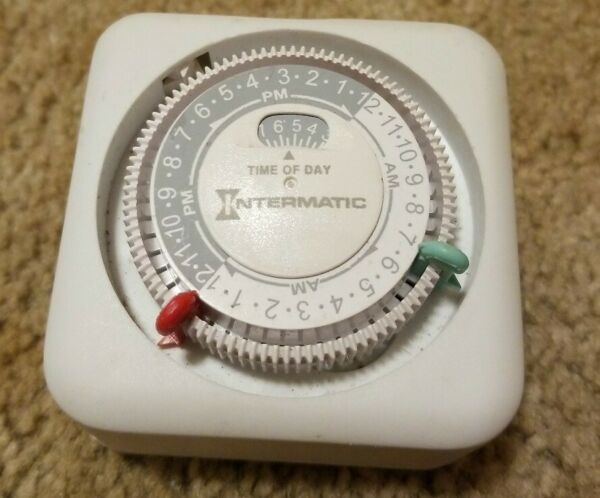 Intermatic Time All Plug-In Appliance Light Timer Model TN111