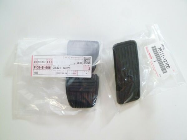 Genuine Toyota 93-98 Supra JZA80 Manual Pedal Pad 78111-12100 31321-14020 FS
