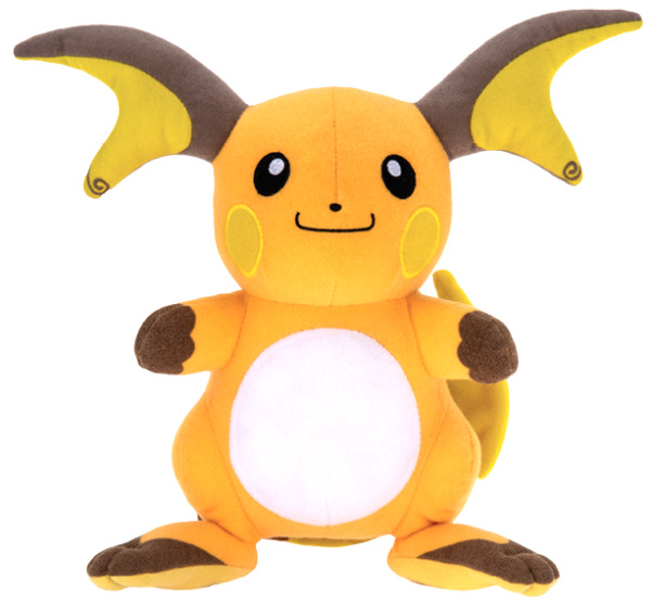 Official Licensed Pokemon Raichu Pikachu Plush Stuffed Figure Doll Toy Gift Kids $17.99