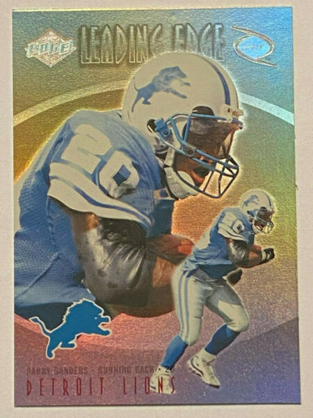 1998 Collector's Edge Odyssey Leading Edge Barry Sanders #10 Lions RB GOAT
