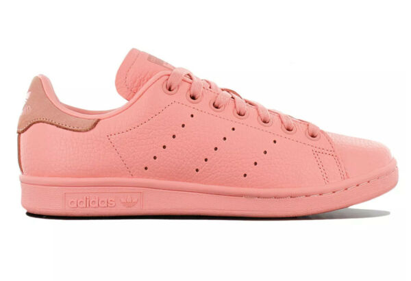Adidas Originals Stan Smith Leather Pastel Pink Retro Shoes BZ0469 Mens Size 13