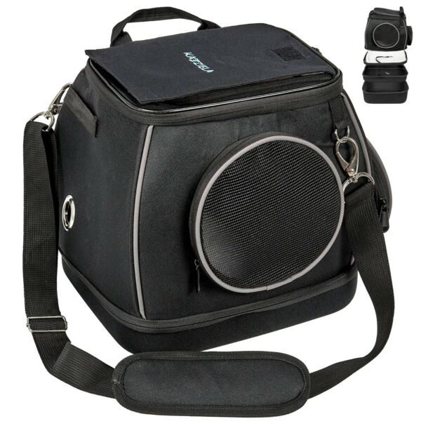 Katziela Expandable Bottom Pet Carrier Shoulder Bag for Small Dogs and Cats $69.99