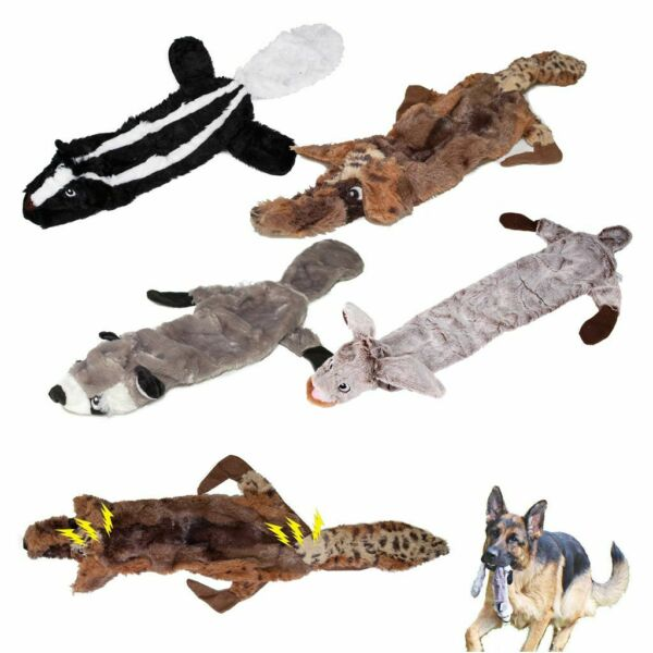 For Dog Toy Play Funny Pet Puppy Chew Squeaker Squeaky Cute Plush Sound Toys US $6.97