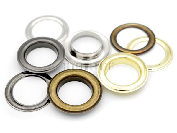 1 Inch Grommets Eyelets with Washers for Leather Canvas Vinyl Billboard 10 pack