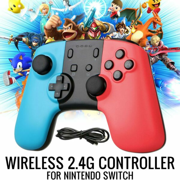 New Wireless Pro Controller Joypad Gamepad Remote for Nintendo Switch Console