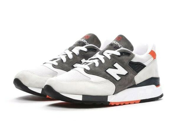 New Balance 998 Made in USA Explore By Air Mens 11 Off White Grey M998CREA