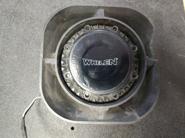 Whelen SA315P Engineering 100 Watt Projector Series Slim Car Speaker With Mount