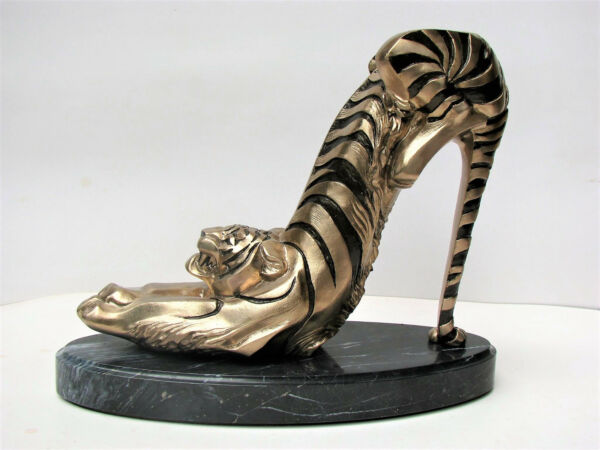 Designer Shoes Sculpture of BronzeOriginal Author's SculptureLimiteQquantity 29