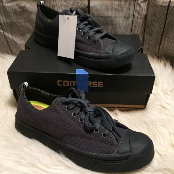 Converse Jack Purcell JP M-Series OX Almost Black Wo 7.5 Men 6 153619C