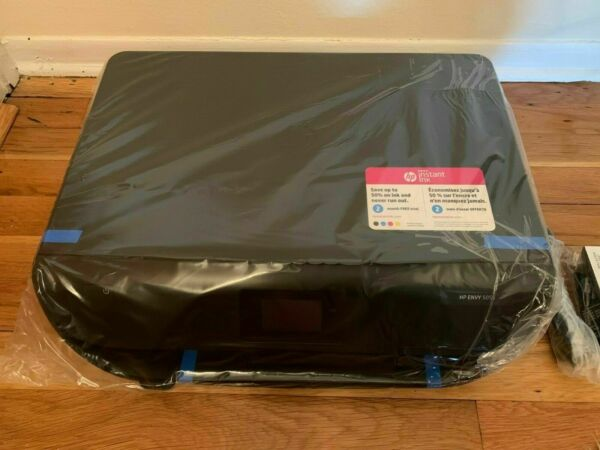 HP ENVY 5055 All-In-One Wireless Printer Inkjet Printer - OPEN BOX WITH NEW INK