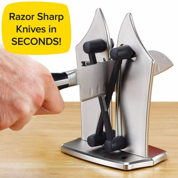 As Seen On TV - Bavarian Edge Kitchen Knife Sharpener by BulbHead