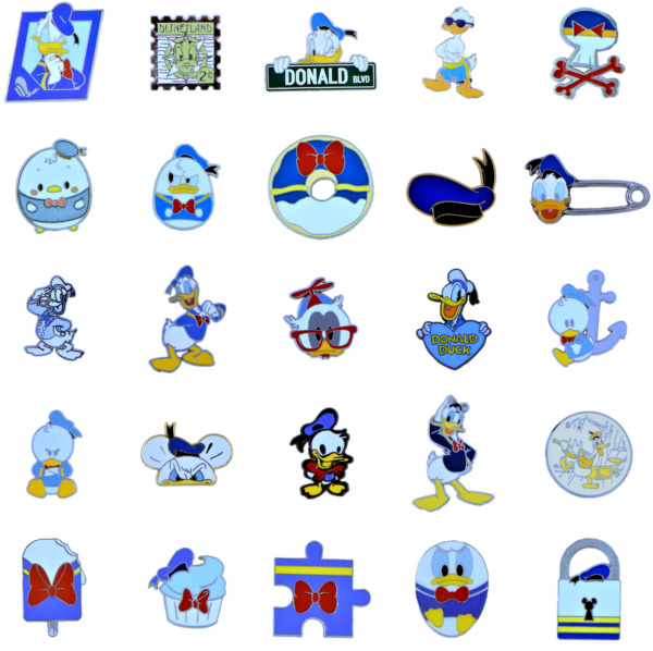 Donald Duck Individual Pin Walt Disney World Parks Trading Pins Brand New $7.99