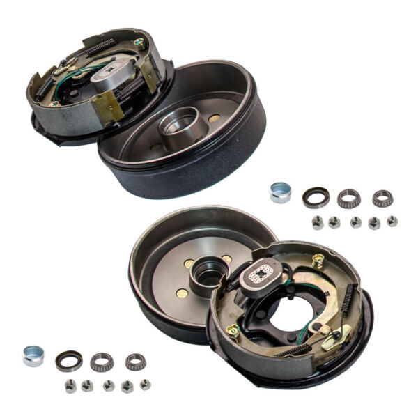 Trailer 5 on 4.5quot; Electric Brake Hub Drum Kits with 10quot;X2 1 4 For 3500 lb Axle $149.53