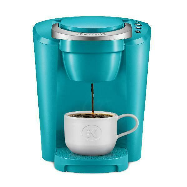 Keurig Coffee Maker K Compact Single Serve K Cup Pod Brewing Machine Turquoise