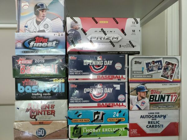 Junior Mystery Chase Baseball Packs Hobby Only 2020 PrizmFinest and many more!!
