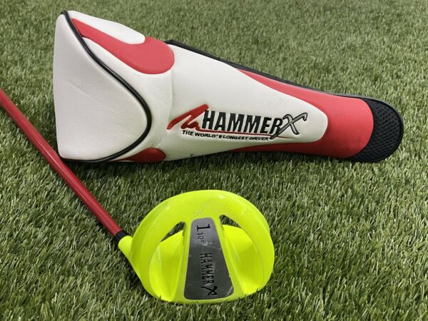 Hammer X Long Drive Driver 10* Xtreme XFactor Fast Shaft Mens RH Head Cover!!