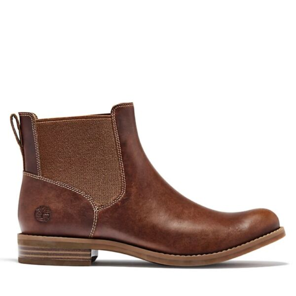 Timberland Women#x27;s Magby Chelsea Boot. Color Brown Full Grain. Choose Size $89.99