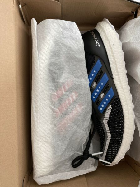 Adidas Ultra Boost 2.0 CTY EG8100 Stars & Stripes Size 10.5 New DS Rare Limited