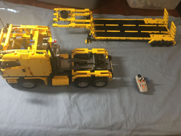 Lego Technic Custom Truck amp; Trailer Power Functions RC 36 Inches 1500 Pieces $300.00